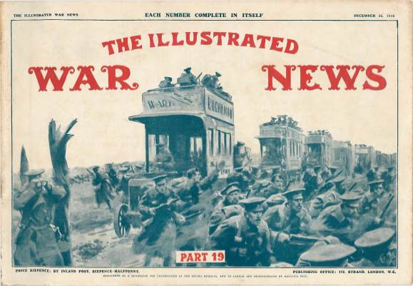 View individual pages of 'The Illustrated War News, Part 19, December 16th 1914'