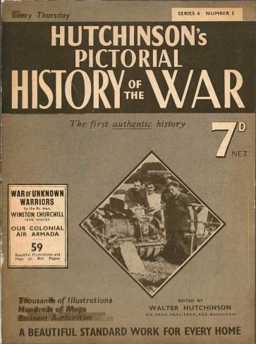 View individual pages of 'Hutchinson's Pictorial History of the War, Series 6 No. 5'